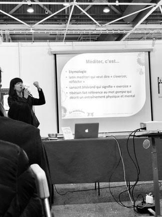 Gaëlle PITON conférencière formatrice gestion du stress spectacle vivant prévention des risques psychosociaux méditation de pleine conscience mindfulness