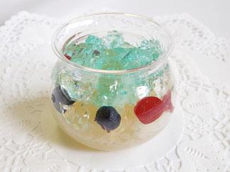 金魚のゼリー ポワソン・ルージュ 横浜 南区 フランス菓子 フロランタン