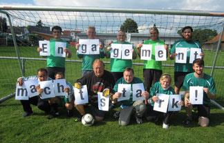 """Engagement mit, in und durch """"unsere Fußball-Freizeitgruppe Kanzach"""" - macht stark (www.bela-ev.com)"""