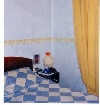 Pintura esponjado paredes