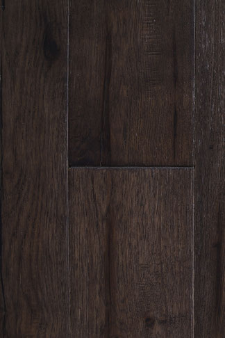 "hand scraped engineered hardwood flooring hickory ""silver night"""