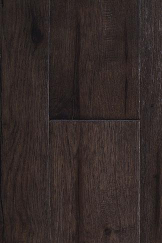 "hand scraped engineered hardwood flooring hickory ""silver night"""