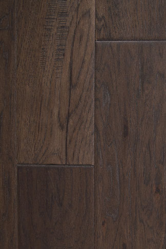 "hand scraped engineered hardwood flooring hickory ""anchor gray"""