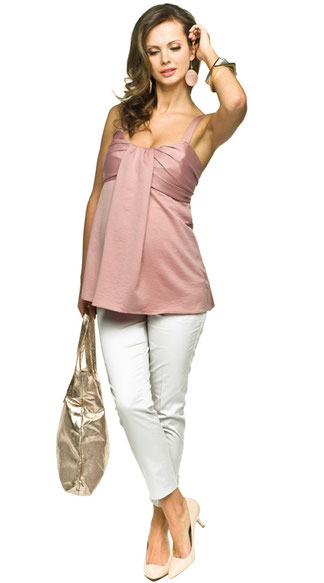 torelle pink maternity top
