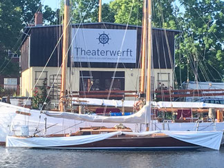 Theater, Greifswald, Theaterwerft