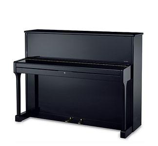 Sauter-Klavier Mod. 114, schwarz pol.