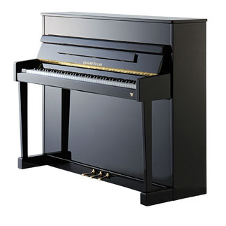 Seiler Klavier Mod. Primus 116, schwarz pol.