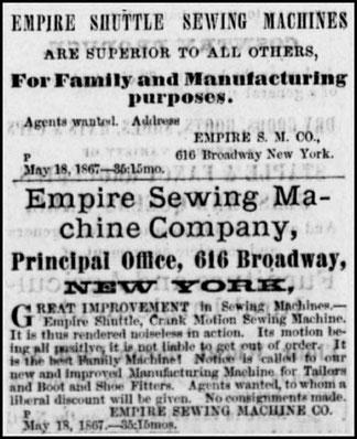 1867 - 616 Broadway N.Y.