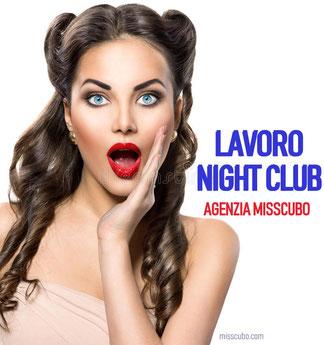 lavoro  in night club
