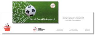 Klappkarte Badischer Fussballverband
