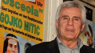 2011 - Gojko Mitic besucht Bernburg