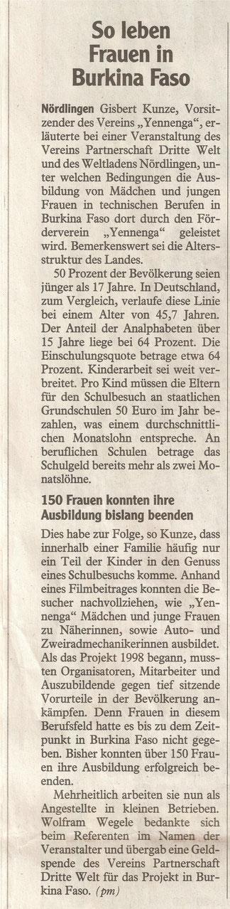 Rieser Nachrichten 29.02.2016