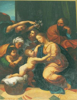 Campile -Sainte Parenté d'après Raphaël