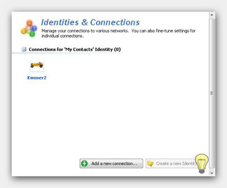 Trillian Identities and Connections