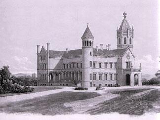 Historische Ansicht Gutshaus Bredenfelde 1853