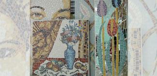 projets mosaïques de l'atelier mosaïque et création