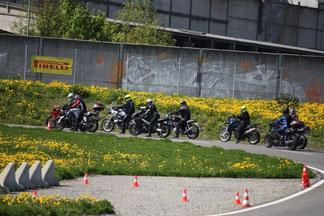 Motorrad Kurs