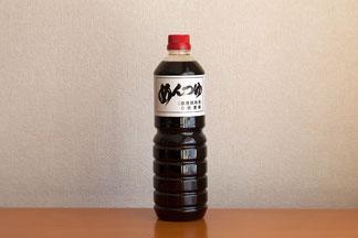 めんつゆ1Lボトル