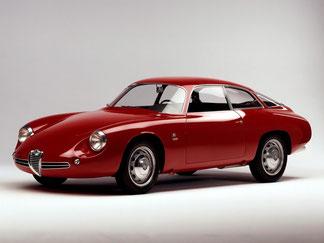 1961 - Alfa Romeo Giulietta SZ Coda Tronca