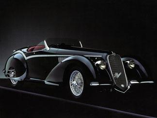 1938 - Alfa Romeo 8C 2900B Spider