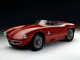 1954 - Alfa Romeo 2000 Sportiva Spider