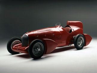 1934 - Alfa Romeo Tipo B Aerodynamica