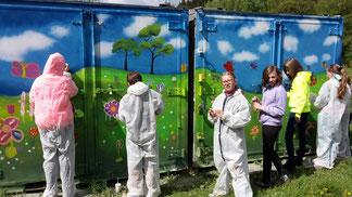 """Projekt """"Container"""" mit dem BRK-Weiden"""