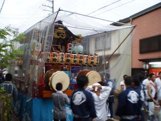 帰り道。直江津の祇園祭もクライマックスを迎えました