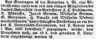 Hamburgischer Correspondent vom 23.11.1837