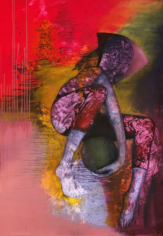Sprung Maria Wirth painting