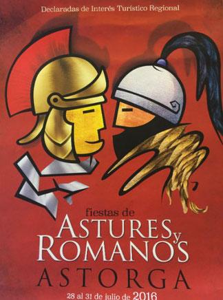 Programa de Astures y Romanos en Astorga