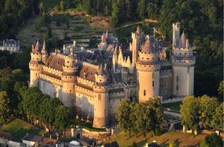 Chateau Pierrefonds proche gite Les Merles Oise
