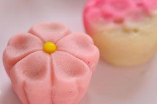 和菓子の撮影