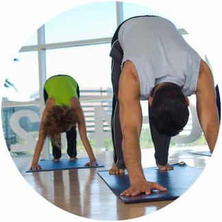 Business Yoga. Yoga im Büro. Yoga zuhause.