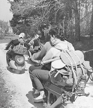 Le temps libre de l'après guerre (source Lafuma)
