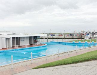 Gesundes Meerwasser genießen - Schwimmbad am Nordseestrand