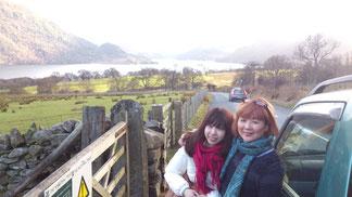 JUJUと湖水地方に観光で!