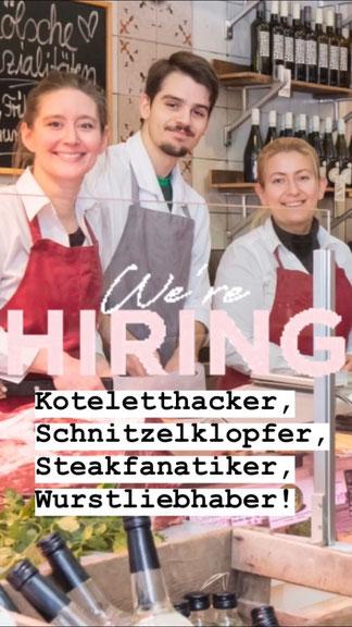 Stellenangebot Köln Ladenmetzger Fleischerfachverkäufer/in