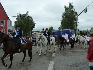 Blutritt 2014 Gruppenleiter Günter Eisele