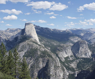Half Dome und Little Yosemite Valley, CA
