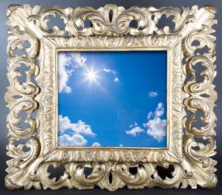 tableau miroir ciel
