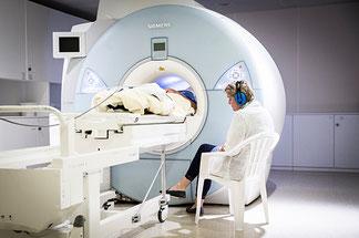 Untersuchung der NCL-Patienten per MRT