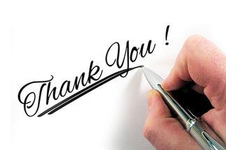 Vielen Dank an alle Helfer und Unterstützer!
