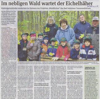 Volksstimme Schönebeck vom 4. November 2015 (Emily Engels)