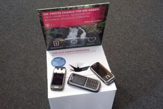 Alte Handys für den Naturschutz