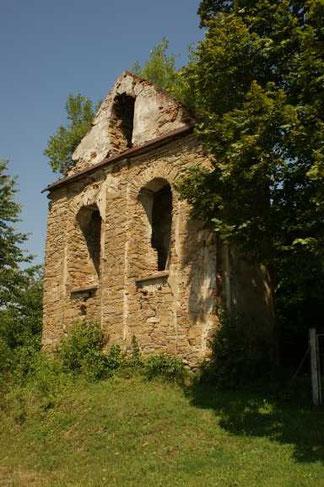 Terka - ruiny cerkwi