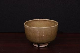 茶碗ー志野土(径13.5x高9)