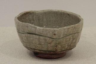 茶碗ー美濃白土(径14x高7)