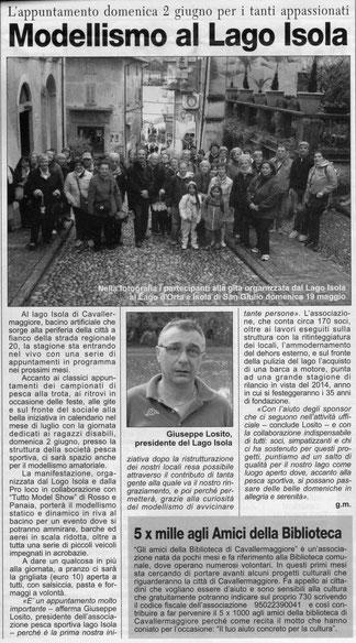 Corriere di Savigliano il 30-05-2013