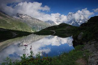 Sirac et lac du Lauzon (L. Terras)